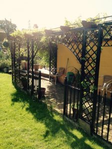 Garden furniture and structures